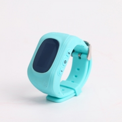Children Smart Watch Kids Girls Boys Christmas Gifts GPS Tracker SOS Call Location Remote Monitor blue 1