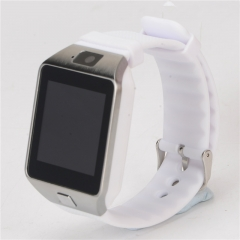 Bluetooth Smart Watch DZ09 Smartwatch Watch Phone Support SIM TF Card with Camera Android IOS Phones white 1