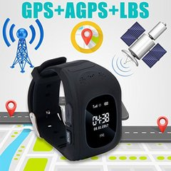 Children Smart Watch Kids Girls Boys Christmas Gifts GPS Tracker SOS Call Location Remote Monitor black 1