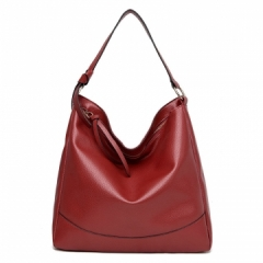 Joyism Handbag Classic Lady Handbag High Quality PU Totes ​Fashion Bag for women red f