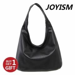 Joyism Simple Fashion Elegant black Handbags For Women Leisure Shoulder Handbag.Black one size black f