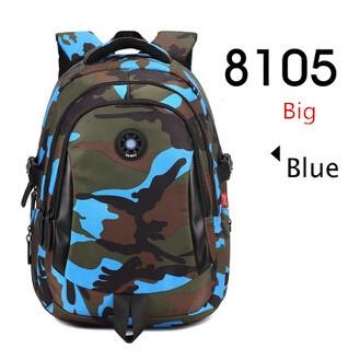 cfa37253181 Waterdichte camouflage rugzak jongens school rugzak kinderen ...