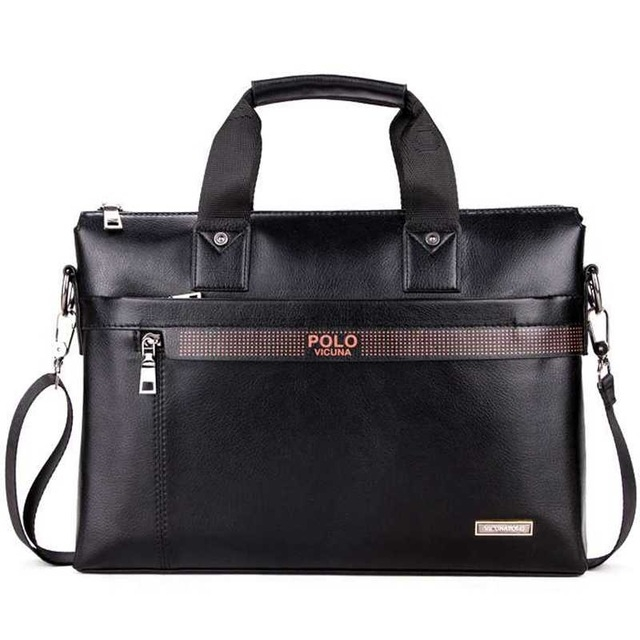 0422af204d9 Polo beroemde merk business mannen aktetas tas lederen laptoptas man  schoudertas bolsa black #01: Product No: 298551. Item specifics: Seller  SKU:CN403 ...