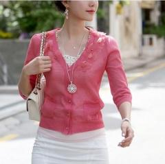 HN Brand-1Pcs/Set New Bohemia decorative hollow pattern necklace Pendant Women Jewellery Gift White chain length:68cm