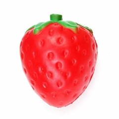 Jumbo Slow Rising Squeeze Toy Stress Reliever Toy Strawberry Normal
