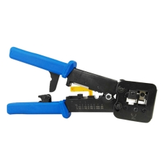Platinum Tools Clamshell EZ-RJPRO HD Crimp Tool blue normal