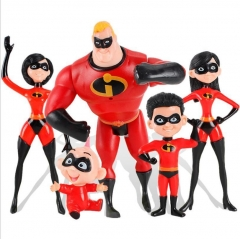 The Incredibles 2 Family 5-Pack Junior Supers Action Figures Kids Toys 6