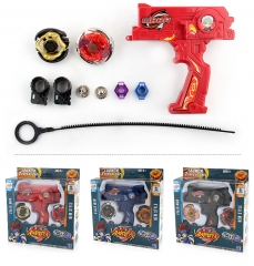 4D Launcher Grip Beyblade Set Rare Metal Master Fusion Top Rapidity Fight Toys Black normal