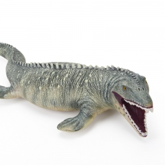Realistic Mosasaurus Dinosaur Animal Model Figure Kids Toy or Festival Gift green normal