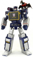 Transformers Masterpiece series MP13 Soundwave with Lazerbeak actions figure toy multicolor normal