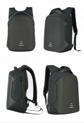 Men/Womens Laptop Notebook Backpack+USB Charging Business School Bag black normal