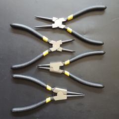 4Pcs Snap Ring Pliers Plier Set 7'' Circlip Combination Retaining Clip Tools Multicolor normal
