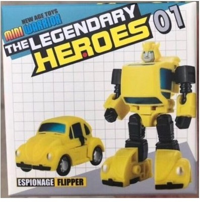 Transformers New Age Toys NA H1 Flipper Bumblebee yellow normal