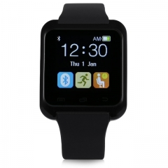 New  Fashion High Quality Multifunction Bluetooth Smart Watch U8 digital sport watches black U8