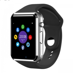 Bluetooth Smart Watch Sport Pedometer With SIM Camera Smartwatch black A1