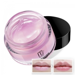Nourishing Repaireing Lip Mask Night Mask Moisturizer Lip Care Lip Dilute Color Improve Wrinkles as shown