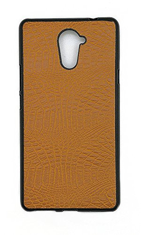 Tecno L9 Plus CaseSoft TPU Gel Protective Cover (Golden) For