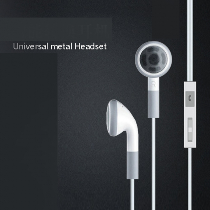Mobile Phone Wire Control Headset Computer Wire Control Headset Andrews Ear style Headset white