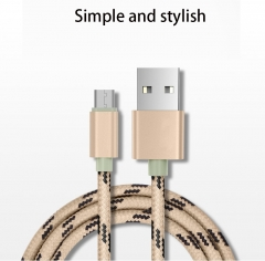 Apply Apple 7 iphone6 Mobile Phone Tiger Pattern Data lines Andrews Nylon Hemp Rope Charging Cable andrews red