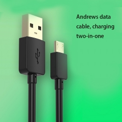 Data lines Apply To Andrews apple General Mobile Phone Lengthened Color Charging Cable andrews red