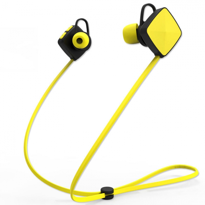 movement Bluetooth headset Hanging ear style wireless Ear style Ears Plug stereo Mobile Universal yellow