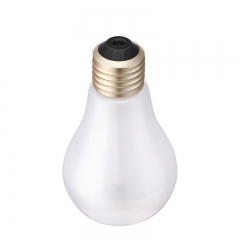 Colorful light bulb humidifier Office desktop humidifier   Built-in Micro view Night view lights white 15cm*8cm*2cm 2w