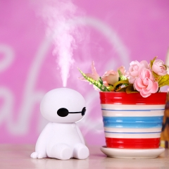 USB noob humidifier Creative lovely USB Mini Mute Home office desktop white 12cm*9cm 1.5W