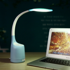 Usb Charge Night Light Humidifier Table Lamp Air Filter Creative Night Light blue 56cm*10cm 1w