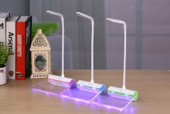 Creative Gift Lamp Fun light Charge LED Bedside lamp USb fluorescent plate Night Light pink 34cm*12cm*14cm 1.7w