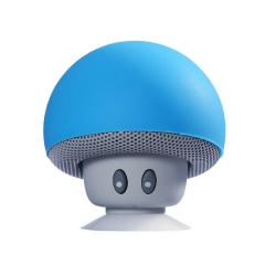 Bluetooth Speaker Small sucker Creative Mini Mobile phone flat Stent Portable Outdoor Small Sound blue one size