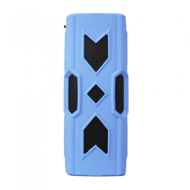Outdoor Mini Sound Bass NFC Three Anti Portable Waterproof Wireless Bluetooth sound blue one size