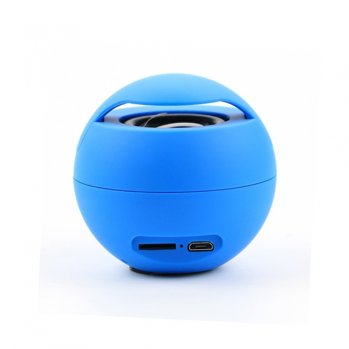 Wireless Bluetooth Speaker Car bass Mobile phone computer Card outdoor Portable Mini Small Sound blue one size