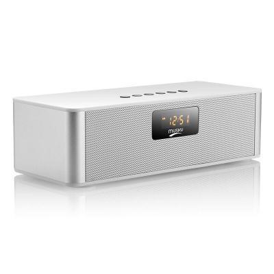 Wireless Bluetooth Speaker Outdoor Portable Radio Card bass Mini 4.0 Small Sound white one size