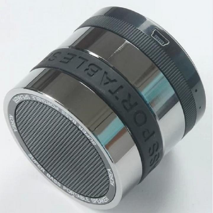 Wireless Bluetooth Speaker Outdoor Card Small Steel Gun radio Mini Bass Small Sound black one size