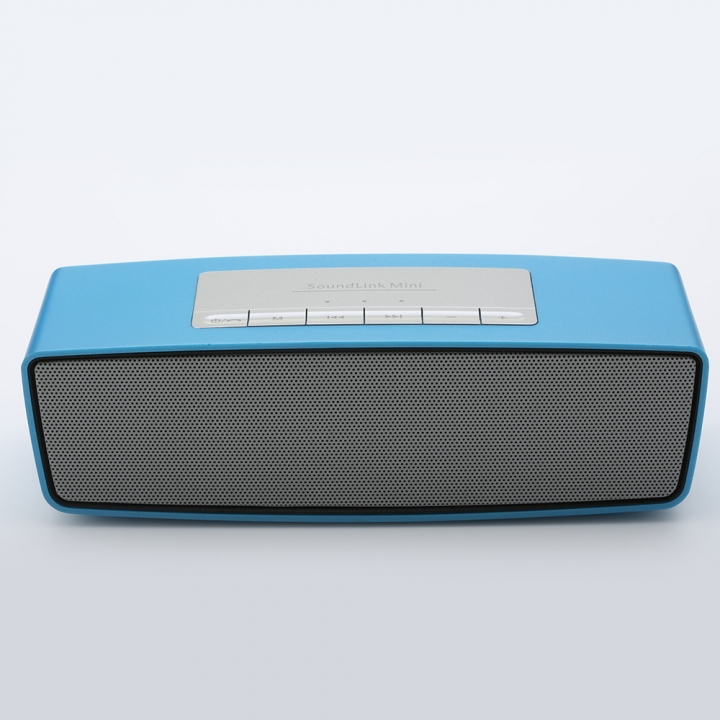 Wireless Bluetooth Speaker Portable Card Speaker Outdoor Mini Small Sound Bass Handsfree Radio blue one size