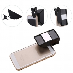 Mobile Phone Special Effects 3d Lens Camera 3d Wide Angle Video Photographers black one size