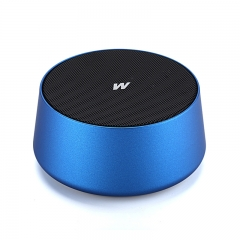 wireless Bluetooth Speaker outdoor Portable Mini bass Small steel gun Card wireless sound blue one size