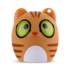 Wireless Mini Cartoon Bluetooth Speaker Outdoor Portable Small Sound Mobile Phone MINI Bass A one size