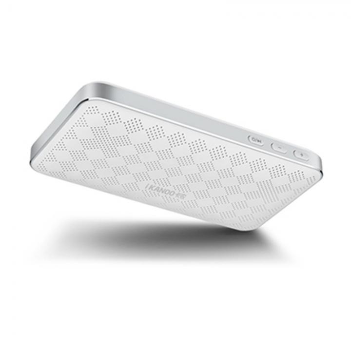 Ultra Thin Wallet Bluetooth Speaker Portable Sound Wireless Card Bass Bluetooth Speaker white one size