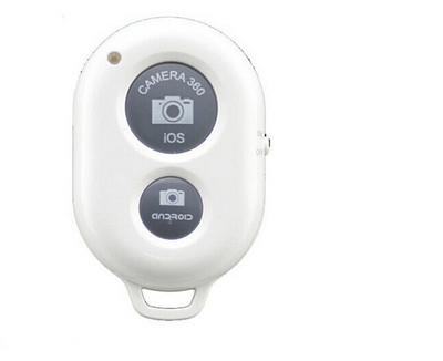 Bluetooth Remote Control Self-portrait Artifact Mobile Phone General Bluetooth Wireless Self-timer white one size