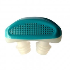 Portable Health Nose Snore Nose Stop Snoring Night Nose Breathing Apparatus Air Purifier blue one size