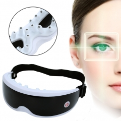Electric Eye Care Massager Magnet Therapy Relax Vibration Alleviate Acupressure white