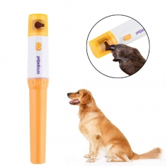 Electric Pet Pedicure Nail Trimmer Pet Nail Tools Grinding Dog Nail Clippers Dog Grooming orange one size