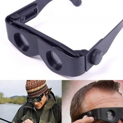 Binoculars Zoomies Magnification Magnifying Magnifiers Glasses Telescope Magnascope black one size