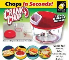CRANK CHOP Multi-purpose Manual Rope Rope Shredder Meat Grinder Shredder Vegetable Food Machine white red one size