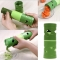 Cucumber Silk Grater Cutter Multifunction Cucumber Double-sided Processor green one size