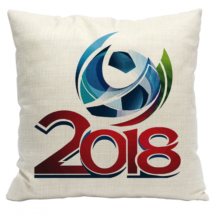 2018 World Cup Football Pillow Cover Cushion 1 one size