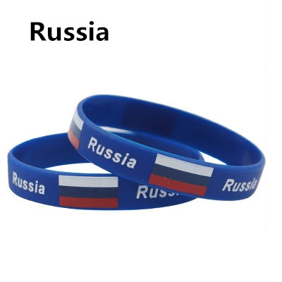 2018 Russia World Cup National Flag feminina pulseira masculina  mujer 1 one size