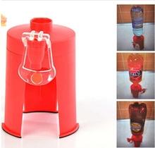 Carbonated Coke Bottle Inverted Dispenser Mini Vertical Hand Pressure Soda Water Bottle Inverter red one size