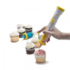 Betty Crocker Battery-powered Cupcake Decorating Cakes Frosting Deco Pen yellow one size